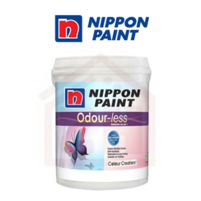 NIPPON PAINT Odour-Less Premium All-In-1