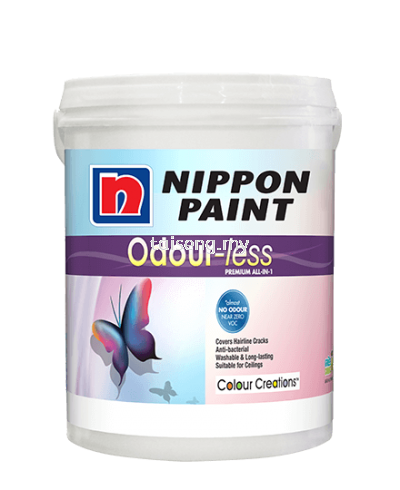 Nippon Odourless Premium all in one for Interior 5L