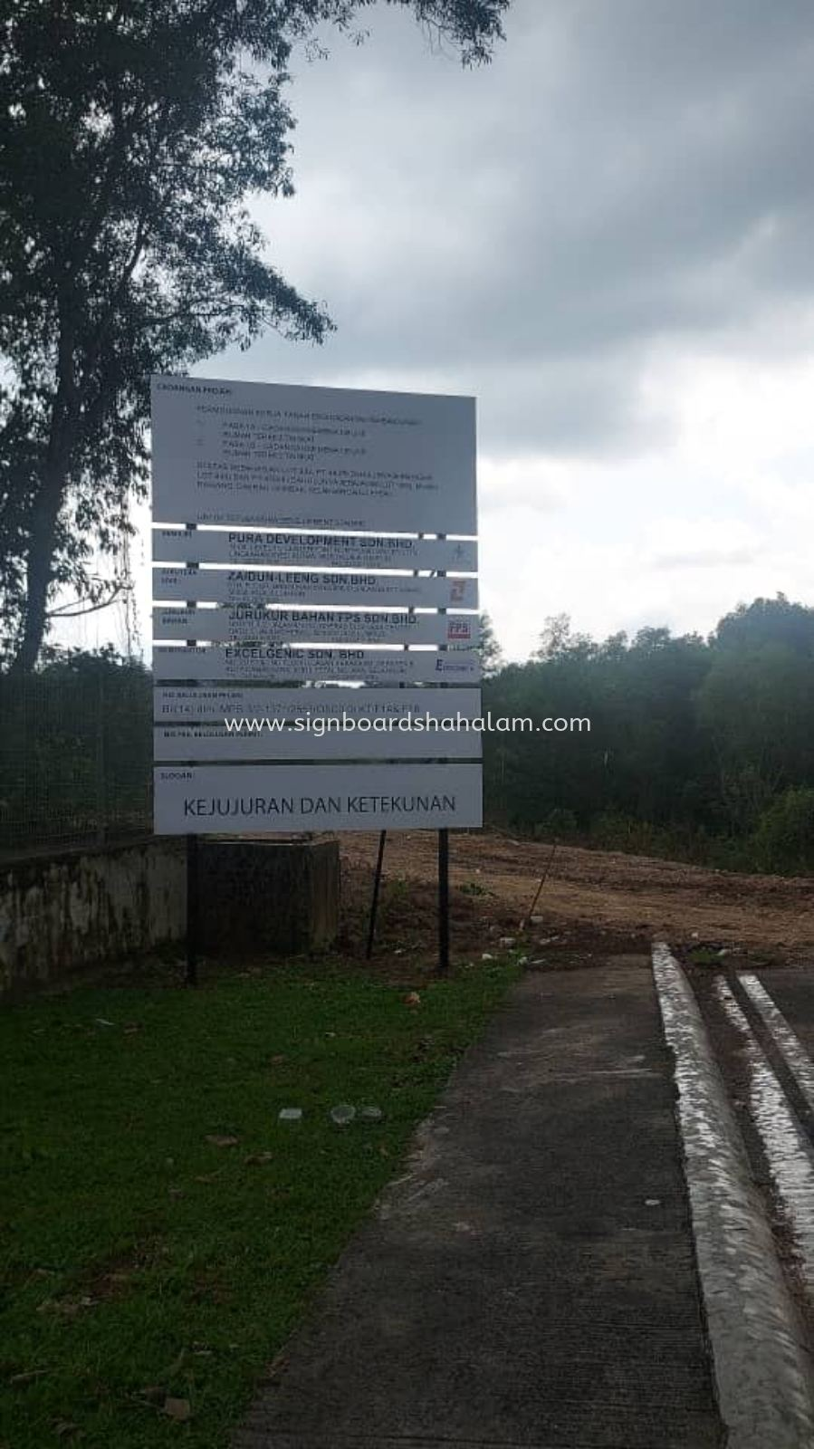 Excelgenic Sdn Bhd Rawang  - Project Signage