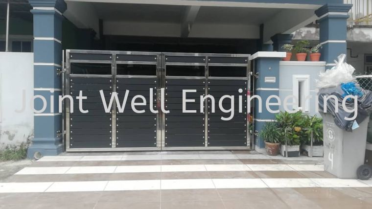 Main Gate  Open Gate Stainless Steel Main Gate