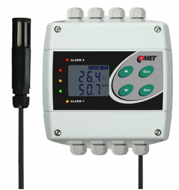 COMET H3331 Temperature and humidity regulator with RS232 output