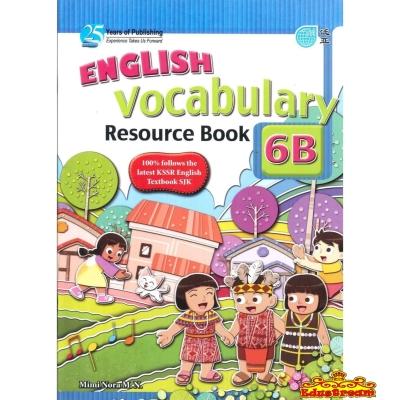 ENGLISH VOCABULARY RESOURCE BOOK 6B