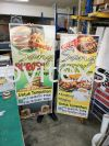 bunting and street bunting /banner  Banner and Bunting / Roll Up Banner / Pop Up System / Mini Flat