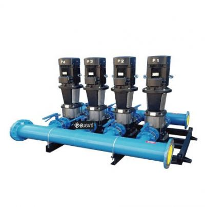 Variable Speed Booster Pump -- 4 Pumps