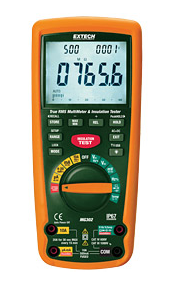 EXTECH MG302 : 13 Function Wireless True RMS MultiMeter/Insulation Tester