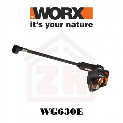 WORX WG630E 20V 4.0Ah Cordless Hydroshot Portable High Pressure Cleaner / Washer with Power Share Te