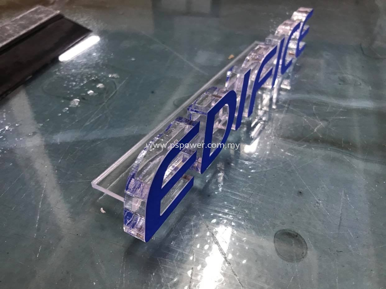 3D Acrylic Lettering Standee