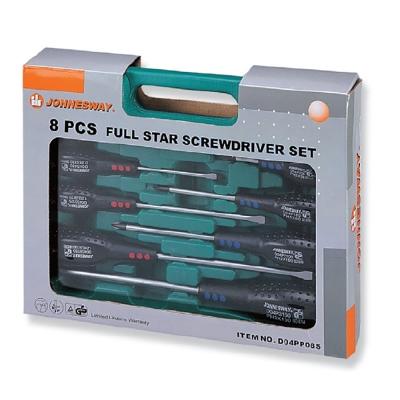 8PCS / 16PCS FULL STAR SCREWDRIVER SET D04PP08S / D04PP16S