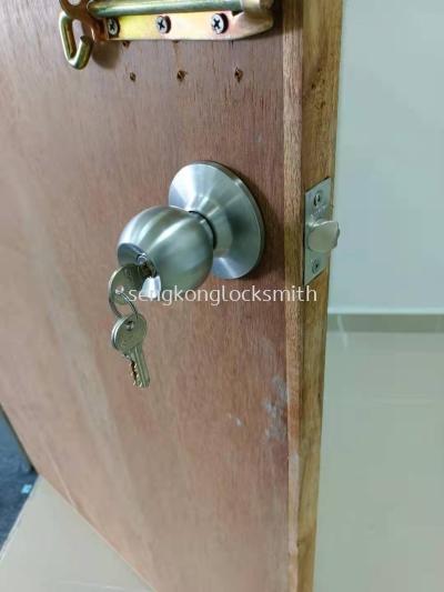 replace door lock