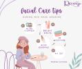 Facial care tips during MCO