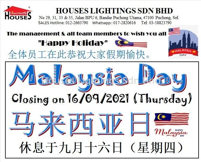 2021 - Malaysia Day