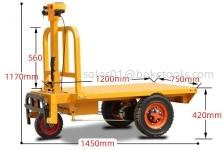 EPT-800 Electric Platform Trolley