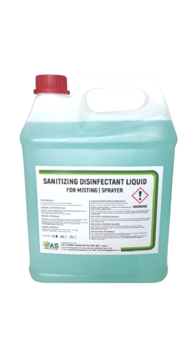 SANITIZING DISINFECTANT LIQUID FOR MISTING AND SPRAYER 1