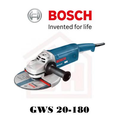 """BOSCH GWS 20-180 7"""" ANGLE GRINDER"""