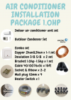 Air Conditioner Installation Package 1.0hp