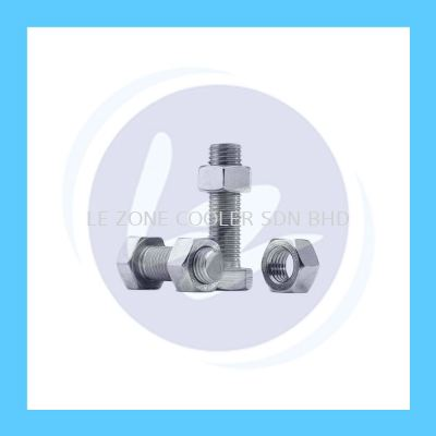 Bolt and Nut 3/8'' x 1''