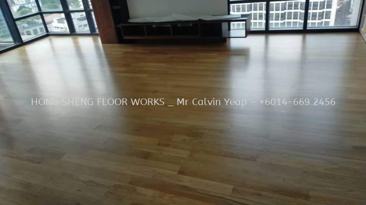Parquet Flooring - White Oak