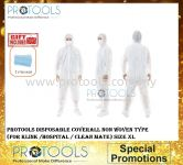 PROTOOLS DISPOSABLE COVERALL