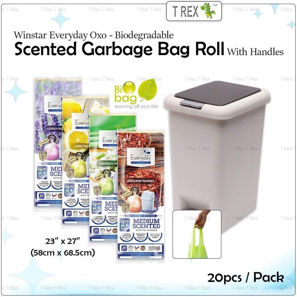 Scented Garbage bag Roll