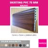 SKIRTING 75MM-WALNUT Skirting & Profile Flooring Accessories