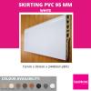 SKIRTING 95MM-WHITE Skirting & Profile Flooring Accessories