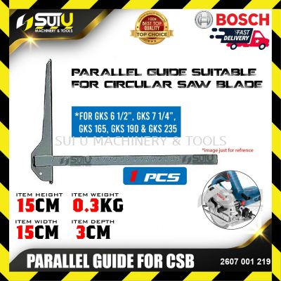 BOSCH 2607001219 Parallel Guide For CSB (1 pcs)