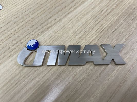 Stainless Steel Cutting Logo with UV Direct Print