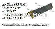 "[3.0MM x 3/4"" X 3/4""] MILD STEEL ANGLE 3.0MM+/- ANGLE STEEL HOLLOW / ANGLE / FLAT BAR / PIPE"