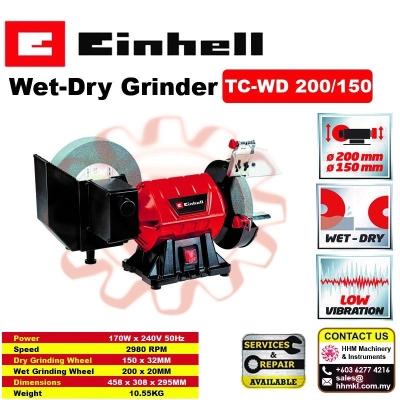 EINHELL Wet-Dry Grinder TC-WD 200/150