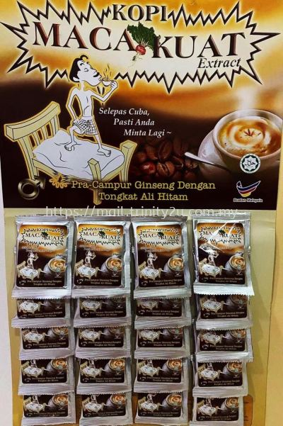 white coffe maca strong