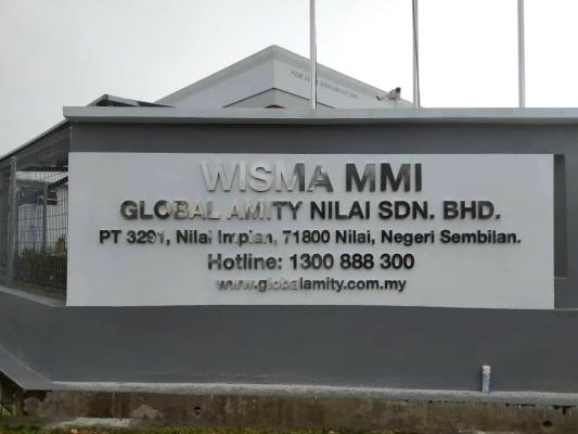 Stainless Steel @ WISMA MMI