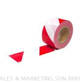 KHP-506RW Barrier Tape Red-White (75mm x 200mm)(TPINDAM1000032)