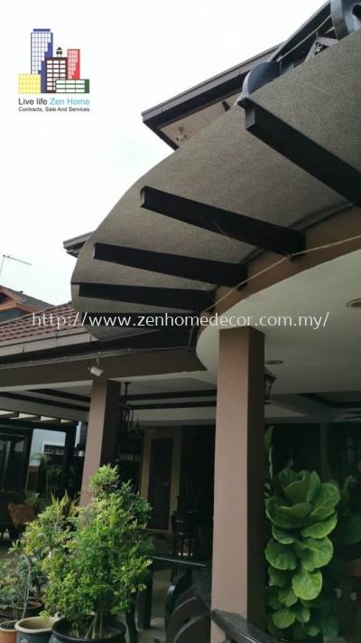 Polycarbonate Sheet.Dato Sri's House