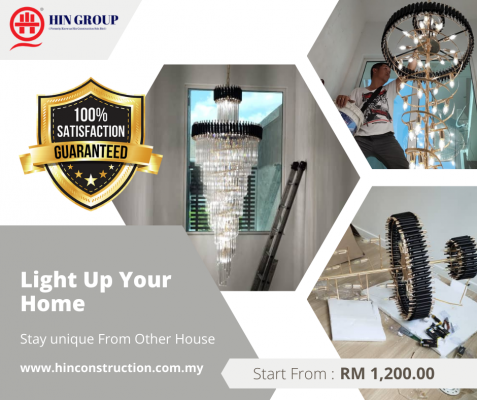 The Secret Support Of Light Installation Service. Call Now