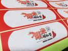 Sticker Label 'Homemade Sambal Chilli Paste' Sticker Printing