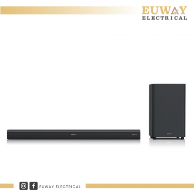 SHARP 220W DOLBY ATMOS SOUND BAR WITH WIRELESS SUBWOOFER HTSBW460
