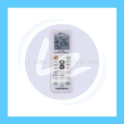 Chunghop 1000 in 1 Universal Aircond Remote Control