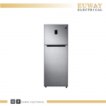 SAMSUNG 410L TOP MOUNT FREEZER WITH TWIN COOLING PLUS™ REFRIGERATOR RT32K5552SL/ME
