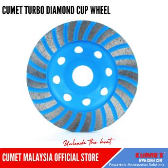 TURBO CUP DIAMOND GRINDING WHEEL