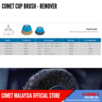 CUP BRUSH-REMOVER