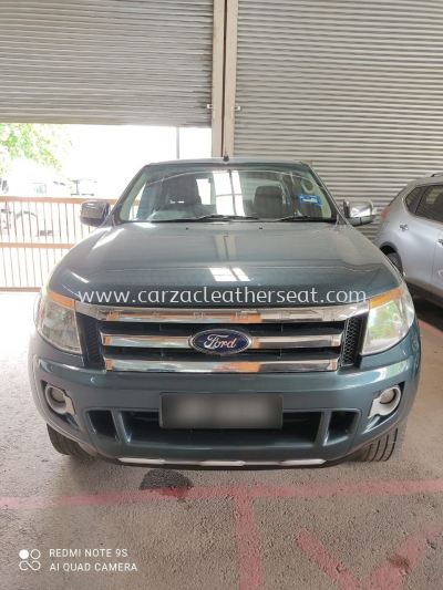 FORD RANGER STEERING WHEEL REPLACE LEATHER/STERING BALUT