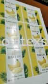 quick print labelling printing menu food n drinks design Printing food menu/digital print menu book/silkcreen printing