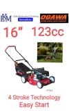"""OGAWA 16"""" Gasoline Lawn Mower, XT16LE Lawn Mower / Lawn Tractor"""