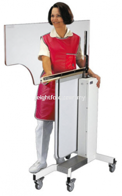 Height Adjustable Over Table Shield