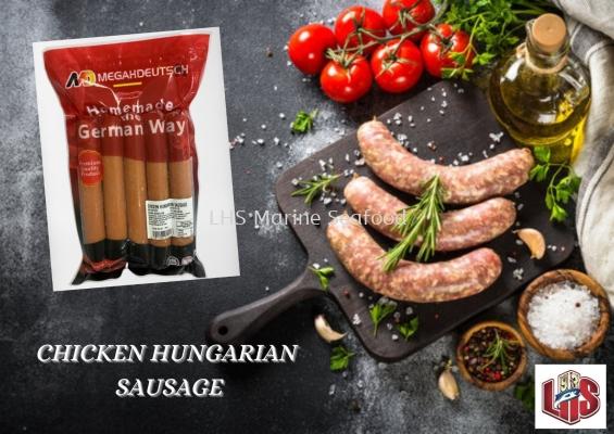 MEGAH DEUTSCH CHICKEN HUNGARIAN SAUSAGE