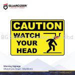 Guardzer Warning Safety Signage (Watch your head)