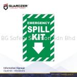 Guardzer Information Safety Signage (Spill Kit)