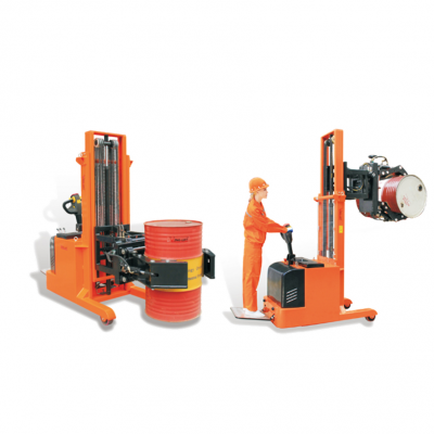 GEOLIFT Fully Electric Counter Balance Drum Rotator