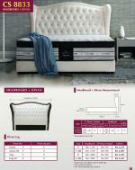Leather Queen King Fabric Bedframe Penang