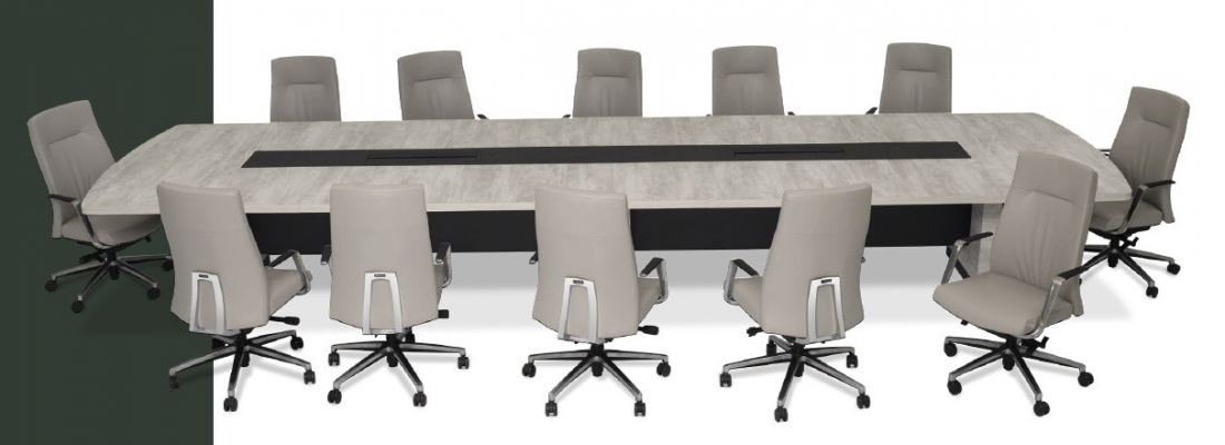 Board room conference table Arena series